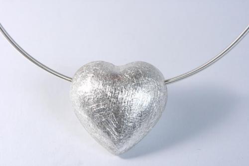 Herz Silber Kette
